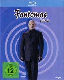 Fantomas - Trilogie (3 Discs) [Blu-ray]