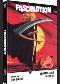 Fascination - Das Blutschloss der Frauen (Limited Mediabook, Blu-ray+DVD, Cover A) (1979) [FSK 18] [Blu-ray]