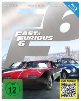 Fast & Furious 6 (Limited Steelbook) (2013) [Blu-ray]