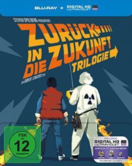 Zurück in die Zukunft - 30th Anniversary Trilogie (3 Discs Limited Steelbook) [Blu-ray]