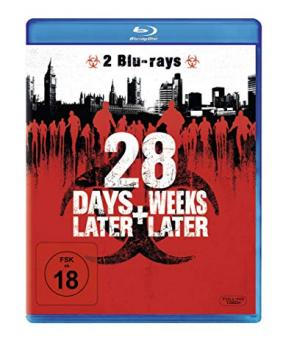 28 Days Later / 28 Weeks Later (2 Discs) [FSK 18] [Blu-ray]
