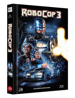 Robocop 3 (Limited Mediabook, Blu-ray+DVD, Cover C) (1993) [Blu-ray]