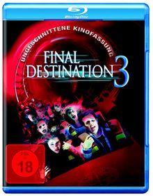 Final Destination 3 (Ungeschnittene Kinofassung) (2006) [FSK 18] [Blu-ray]