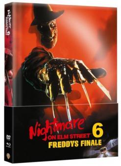 Nightmare on Elm Street - Teil 6 (Limited Wattiertes Mediabook, Blu-ray+DVD) (1991) [FSK 18] [Blu-ray]