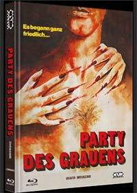 Party des Grauens (Death Weekend) (Limited Mediabook, Blu-ray+DVD, Cover B) (1976) [FSK 18] [Blu-ray]