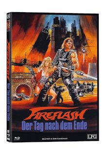 Fireflash - Der Tag nach dem Ende (Limited Mediabook, Blu-ray+DVD, Cover A) (1983) [FSK 18] [Blu-ray]