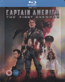 Captain America (Limited Steelbook) (2011) [UK Import mit dt. Ton] [Blu-ray]