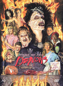 Night of the Demons (Limited Mediabook, Blu-ray+DVD, Cover D) (1988) [FSK 18] [Blu-ray]