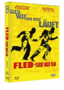 Fled - Flucht nach Plan (Limited Mediabook, Blu-ray+DVD, Cover A) (1996) [Blu-ray]