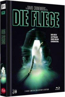 Die Fliege (Limited Mediabook, Blu-ray+DVD, Cover A) (1986) [FSK 18] [Blu-ray]