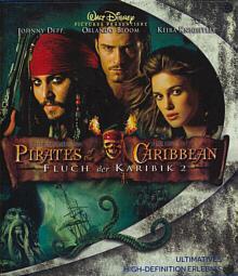 Fluch der Karibik 2 - Pirates of the Caribbean (2 Discs) (2006) [Blu-ray]
