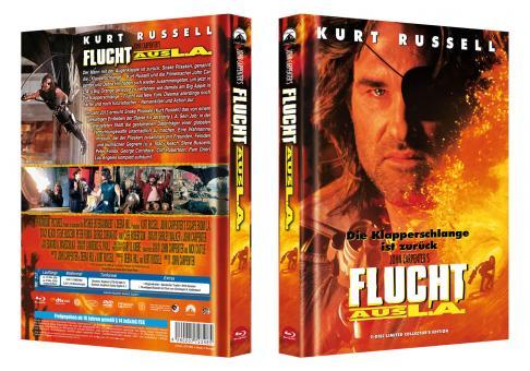 Flucht aus L.A. (Limited Mediabook, Blu-ray+DVD) (1996) [Blu-ray]