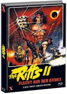 The Riffs 2 - Flucht aus der Bronx (Limited Mediabook, Blu-ray+DVD, Cover A) (1983) [FSK 18] [Blu-ray]