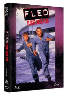 Fled - Flucht nach Plan (Limited Mediabook, Blu-ray+DVD, Cover B) (1996) [Blu-ray]