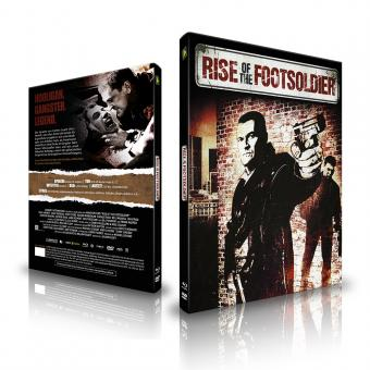 Rise Of The Footsoldier (Limited Mediabook, Extended Version, Blu-ray+DVD, Cover C) (2007) [FSK 18] [Blu-ray]