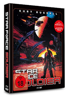 Star Force Soldier (Limited Uncut Mediabook, Blu-ray+DVD, Cover B) (1998) [FSK 18] [Blu-ray]