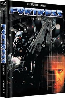 Fortress - Die Festung (Limited Mediabook, Blu-ray+DVD, Cover A) (1993) [Blu-ray]