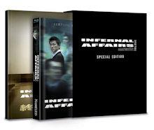 Infernal Affairs 1-3 (3 DIsc Limited Mediabook + Fotobuch) [Blu-ray]