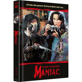 Maniac (6 Discs Mediabook, 4K Ultra HD+Blu-ray+DVD, Cover D) (1980) [FSK 18] [4K Ultra HD]