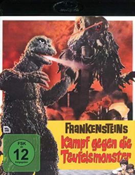 Frankensteins Kampf gegen die Teufelsmonster (1971) [Blu-ray]