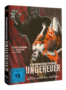 Frankensteins Ungeheuer (Limited Mediabook, Cover A) (1964) [Blu-ray]