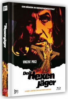 Der Hexenjäger (3 Disc Limited Mediabook, Blu-ray + 2 DVDs, Cover B) (1968) [FSK 18] [Blu-ray)