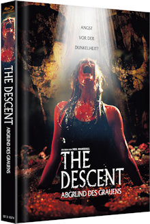 The Descent - Abgrund des Grauens (Limited Mediabook, Cover B) (2005) [FSK 18] [Blu-ray]