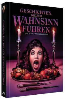 Geschichten die zum Wahnsinn führen (Limited Mediabook, Blu-ray+DVD, Cover A) (1973) [Blu-ray]