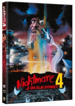 Nightmare on Elm Street - Teil 4 (Limited Mediabook, Blu-ray+DVD) (1988) [FSK 18] [Blu-ray]