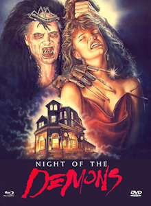Night of the Demons (Limited Mediabook, Blu-ray+DVD, Cover B) (1988) [FSK 18] [Blu-ray]