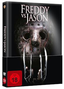 Freddy Vs. Jason (Limited Wattiertes Mediabook, Blu-ray+DVD) (2003) [FSK 18] [Blu-ray]