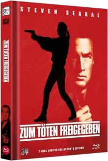 Zum Töten freigegeben (Limitiertes Mediabook, Limitert auf 999 Stück, Blu-ray+DVD, Cover B) (1990) [FSK 18] [Blu-ray]