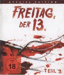 Freitag der 13. Teil 3 (1982) [FSK 18] [EU Import mit dt. Ton] [Blu-ray]