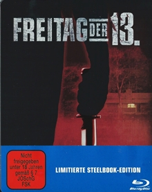 Freitag der 13. (Limited Steelbook) (1979) [FSK 18] [Blu-ray]