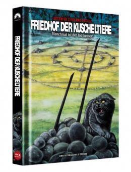 Friedhof der Kuscheltiere (Limited Mediabook, Blu-ray+DVD, Cover B) (1989) [FSK 18] [Blu-ray]
