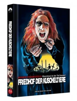 Friedhof der Kuscheltiere (Limited Mediabook, Blu-ray+DVD, Cover C) (1989) [FSK 18] [Blu-ray]