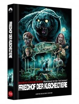Friedhof der Kuscheltiere (Limited Mediabook, Blu-ray+DVD, Cover D) (1989) [FSK 18] [Blu-ray]