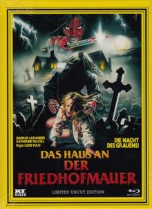 Das Haus an der Friedhofmauer (Kult-HD Hartbox, Limitiert auf 333 Stück, Cover B) (1981) [FSK 18] [Blu-ray]