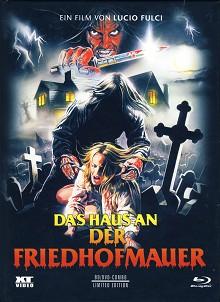 Das Haus an der Friedhofmauer (Limited Mediabook, Blu-ray+DVD, Cover A) (1981) [FSK 18] [Blu-ray]