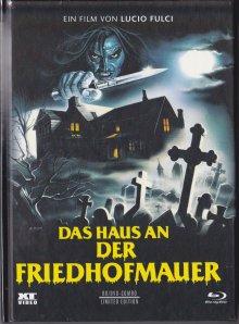 Das Haus an der Friedhofmauer (Limited Mediabook, Blu-ray+DVD, Cover B) (1981) [FSK 18] [Blu-ray]