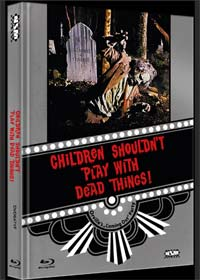 Children Shouldn't Play with Dead Things (Limited Mediabook, Blu-ray+DVD, Cover F) (1972) [FSK 18] [Blu-ray]