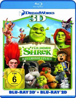 Shrek 4 - Für immer Shrek: Das große Finale (3D Blu-ray+Blu-ray) [3D Blu-ray]