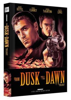 From Dusk Till Dawn Trilogy (Limited Wattiertes Mediabook, Cover A) [FSK 18] [Blu-ray]
