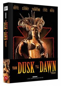 From Dusk Till Dawn Trilogy (Limited Wattiertes Mediabook, Cover B) [FSK 18] [Blu-ray]