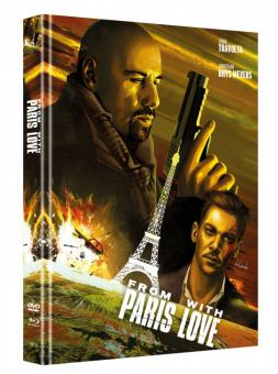 From Paris with Love (Limited Mediabook, Blu-ray+DVD, Cover A) (2009) [Blu-ray]