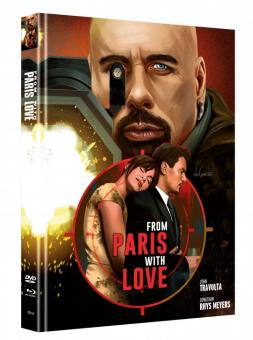 From Paris with Love (Limited Mediabook, Blu-ray+DVD, Cover B) (2009) [Blu-ray]