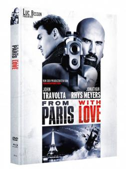 From Paris with Love (Limited Mediabook, Blu-ray+DVD, Cover C) (2009) [Blu-ray]