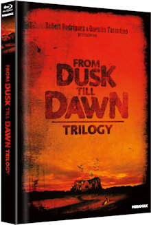 From Dusk Till Dawn Trilogy (Limited Mediabook, 4 Discs, Cover A) [FSK 18] [Blu-ray]