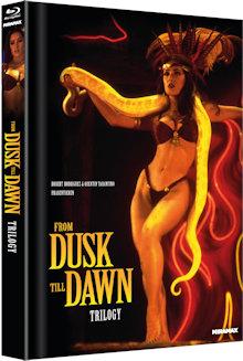 From Dusk Till Dawn Trilogy (Limited Mediabook, 4 Discs, Cover B) [FSK 18] [Blu-ray]