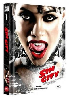 Sin City (Limited Mediabook, 2 Discs, Cover E) (2005) [FSK 18] [Blu-ray]